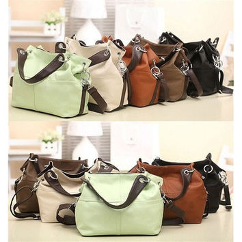 Lady Hobo genuine Leather Bag Handbag [10198321799]