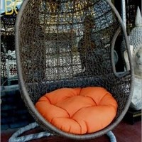 Porch Swings Beautiful Egg Swing Chair Perfect for Patio or Porch 6.5 Ft Tall