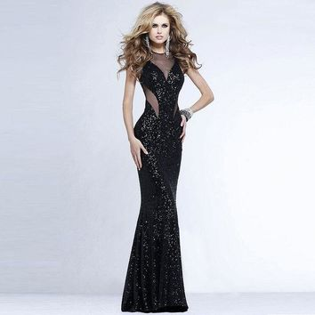 ca DCCKTM4 Mermaid Sexy Wrap Lace Ball Gown One Piece Dress [9108981447]