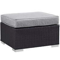 Gather Outdoor Patio Ottoman