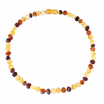 Baltic Amber Teething Necklace/Bracelet for Baby in 4 Colors shipping from Australia