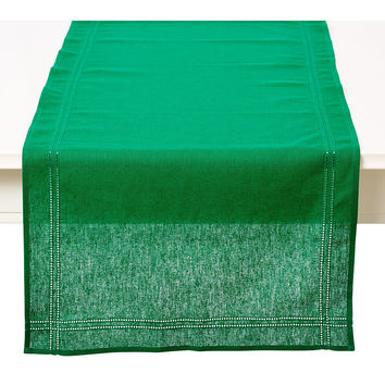 Heirloom Runner, Verdant Green, Table Runners