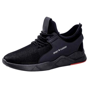 YOUYEDIAN Shoes Men Sneakers Breathable Male sneakers adult fashion men casual shoes men flats lace up male suede oxfords #w30