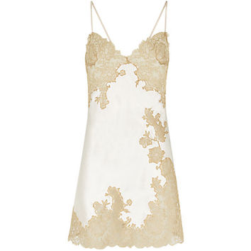 Marjolaine Gold Collection Silk Chemise