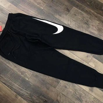 DCCKNQ2 Nike Hybrid Swoosh Joggers Woman Men Fashion Pants Trousers Sweatpants