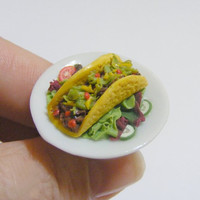 Scented or Unscented Beef Taco Miniature Food Ring  by NeatEats