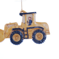 Personalized Christmas Ornament Front Loader