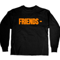 Vlone Friends Black Crewneck - FW16 Collection Now available