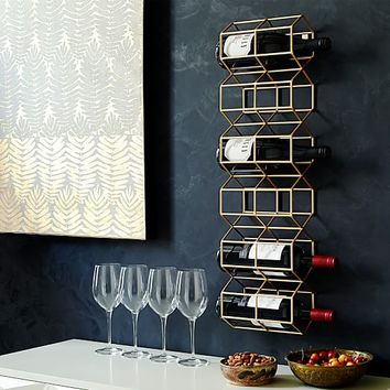 Deco Wine Bottle Rack