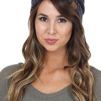 Heathered Beanie Navy