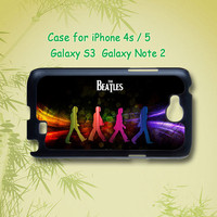 The Beatles - iphone 4 / 4S case , iphone 5 case , Samsung Galaxy S3 and Note 2 case in black or white