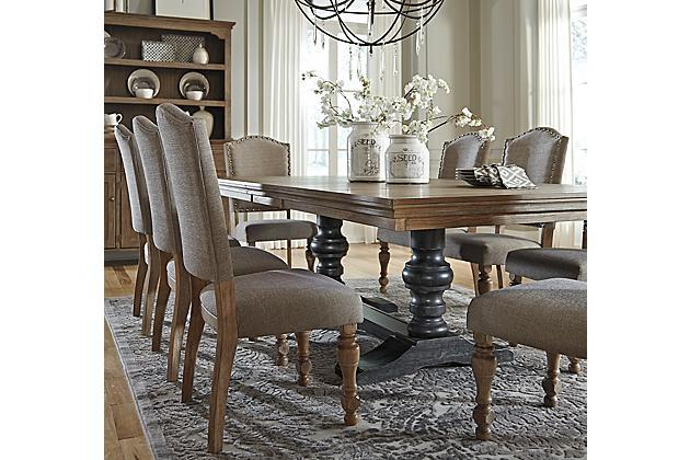 Tanshire Table And Base From Ashleyfurniturehomestore Com