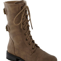 You Tread It Boot in Taupe | Mod Retro Vintage Boots | ModCloth.com