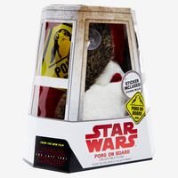 Star Wars: The Last Jedi 6 Inch Porg On Board Window Plush