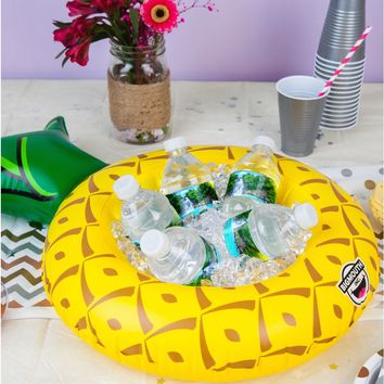 Inflatable Pineapple Serving Ring (Perfect for Chips, Fruit, Ice, Party Favors) - PRE-ORDER, SHIPS LATE MARCH
