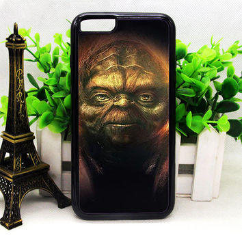 STAR WARS YODA PAINTING IPHONE 6 | 6 PLUS | 6S | 6S PLUS CASES