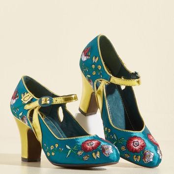 Rise to the Formal Occasion Heel | Mod Retro Vintage Heels | ModCloth.com