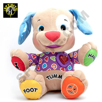 Interactive Doll Toy - Dog Camera & Recorder