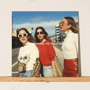 HAIM - Something To Tell You Exclusive 2XLP | Urban Outfitters