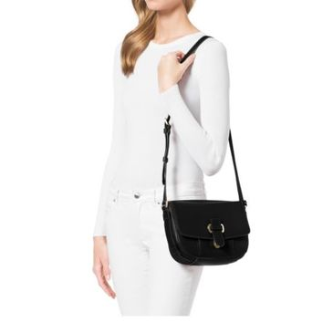Romy Medium Leather Crossbody | Michael Kors