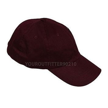 Generic Plain Solid Washed Polo Style Hat Soft Foldable 100 Cotton Ball Cap Golf Visor