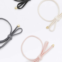Bow-Tie Hair Band Four-Pack - Urban Outfitters