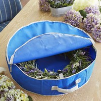 Wreath Storage Bags - Blue