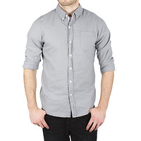 Guys Solid Oxford 1 Pocket Shirt