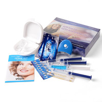 Teeth Whitening Kit Teeth Whitening Gel Thermoform Trays Whitening Teeth LED Cold Light Lamp Bleaching System