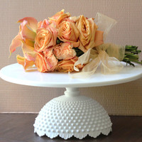 "16"" Wedding Cake Stand / White Cake Stand / Cupcake Stand / Custom Cake Stand for Wedding Cakes / Vintage White Weddings by The Roche Studio"