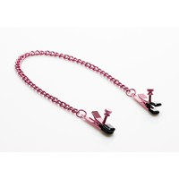 Sex Kitten Pink Naughty Nipple Clamps