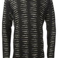 Dolce & Gabbana sword print sweater