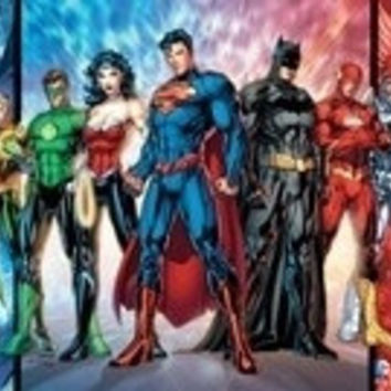 """Super Hero, Superman Wonder Woman, Green Arrow, Batman, Ironman"" Silk Poster 24x36 inches"