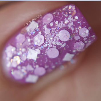 It's So Fluffy: Glitter Topper Indie Nail Polish