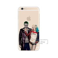 Joker + Harley Quinn Phone Case For iPhone 7 7Plus 6 6s Plus 5 5s SE