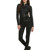 Marvel Her Universe Black Widow Girls Belted Jacket