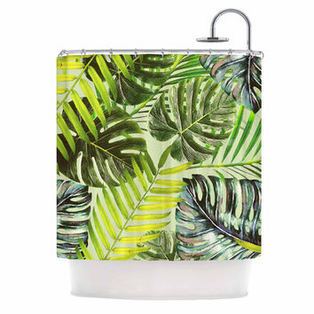 KESS InHouse Jungle by Alison Coxon Shower Curtain