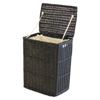 Threshold™ Rectangle Laundry Hamper - Espresso