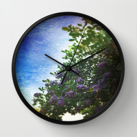 Spring Fling Wall Clock by The Dreamery