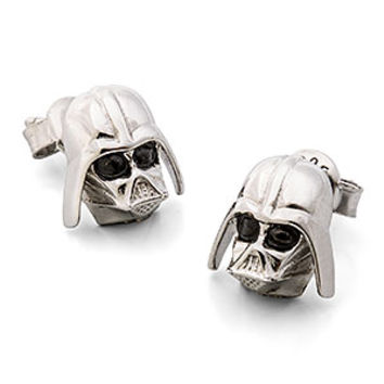 Star Wars Darth Vader Sterling Stud Earrings