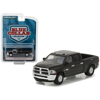 2017 Dodge Ram 2500 Pickup Truck Blue Collar Collection Series 3 1/64 Diecast Model Car by Greenlight