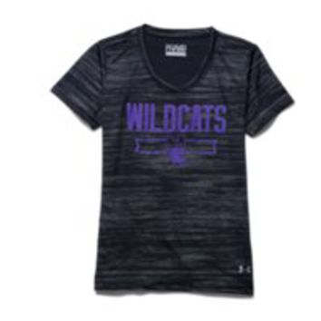 Under Armour Girls' Northwestern College UA Tech Shimmer T-Shirt