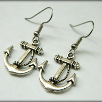 Anchor Earrings Dangle
