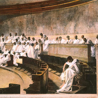 Cicero In Senate Photograph by Granger - Cicero In Senate Fine Art Prints and Posters for Sale