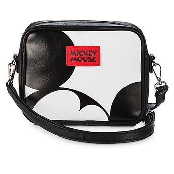 Mickey Mouse Faux Leather Crossbody Bag by Loungefly | Disney Store