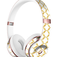 Gold Morocan v3 Full-Body Skin Kit for the Beats by Dre Solo 3 Wireless Headphones