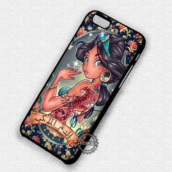 Aladdin Jasmine Tattooed Princess - iPhone 7 6 5 SE Cases & Covers