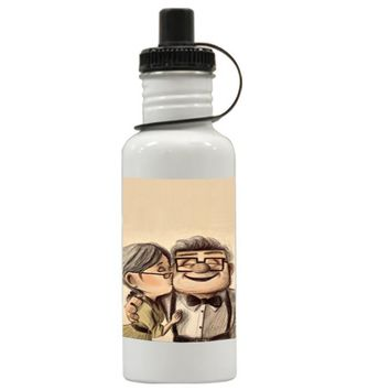 Gift Water Bottles | Carl And Ellie Up Movie Aluminum Water Bottles