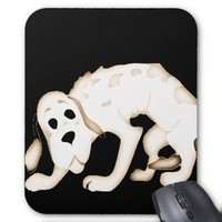 Cool Sitting Pet Dog Mouse Pad