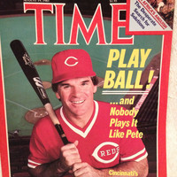 Time Magazine August 19, 1985 Featuring Pete Rose